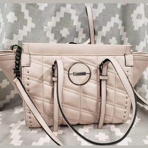 Calvin Klein blush pink spring purse tote